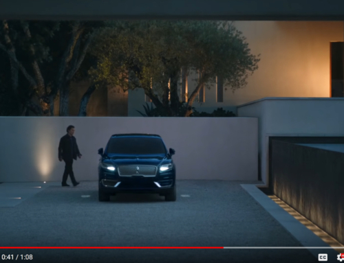 Lincoln Nautilus Ad – Filmed on property with our Lighting Design