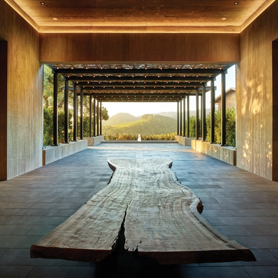EJA designs lighting for the Worlds Best New Winery by Robb Report