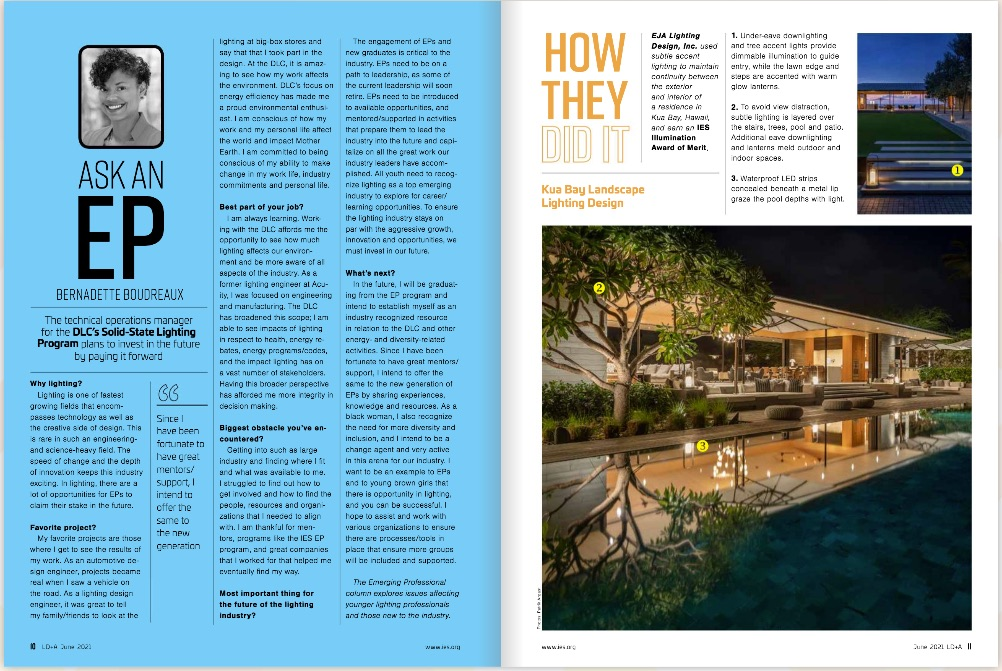 How they Did It - LD + A Magazine - Lighting Design and Application